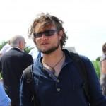 Tobias Kind von der Kite-Surfschule…